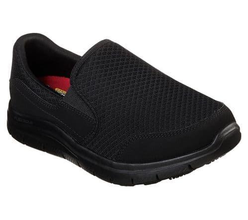 Skechers Cozard Sr Ladies Occupational Fotwear Black